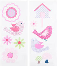 Baby Wall Decor Chloe Decals 2 Sheets 10 x 24 Inch by Just Born