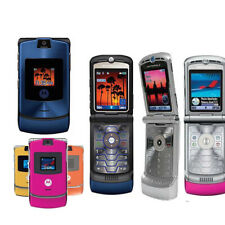 UNLOCKED ORIGINAL Motorola V3  2G Mobile Phone WARRANTY Rare Razr 100%