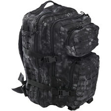 Mil-Tec Nous Assault Pack De Grand Laser Cut Tactique Militaire Mandra Nuit