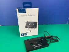Insignia Ns-Ca103 3' 3.5mm Headphone Jack Car Cassette Adapter Audio Mp3 New