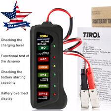 12V 6 LED Lights Car Battery Load Tester Alternator Auto Scanner Diagnostic Tool