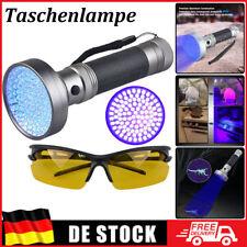UV Taschenlampe Schwarzlichtlampe Mit 100 LEDs Sehr Hell Superstrahl Flashlight