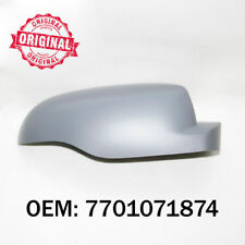 Right Side Wing Mirror Cover Cap Casing Primed For Renault Clio 2009 Onwards