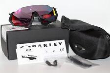 Oakley Flight Jacket Sunglasses OO9401-0137 Polished Black W/ PRIZM Road Lens