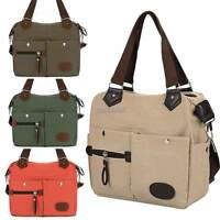 Lady Women Handbag Canvas Shoulder Bag Cross Body Messenger Satchel Tote ST