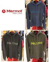 Marmot Men's LS Hoody Hooded Sweatshirt #53640  3 Colors