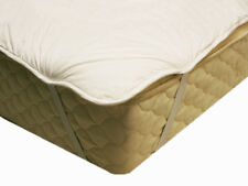 Premium Australian Wool Filled Mattress Topper - Queen Size -
