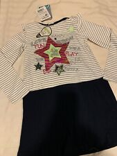 NEW DESIGUAL GIRLS  Glow In The Dark With Mini String Bag+Dress ,Size 7/8