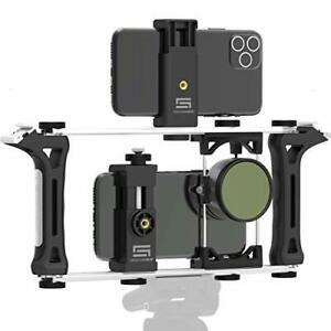 Universal Modular Transformable Rig System for Any Smartphone Action DSLR Camera