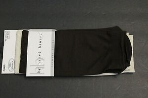 2 PAIRS Women's Dress socks trouser Crew Boots Thin Socks Brown/ivory shoe 4-10