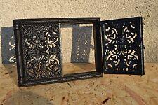 Porta per forno a legno Ghisa Ferro Affumicatoio il Griglia di ventilazione