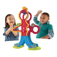 Fisher-Price Spinnyos Racin' Chasin' Super Slide with 2 Yo's New
