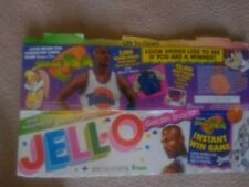 MICHAEL JORDAN 1996 Warner Bros. Space Jam JELL-O Box complete with 3 Cards