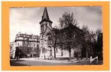 LEVALLOIS (92) CITROEN 2CV à la PHARMACIE & EGLISE animée période 1950-1960