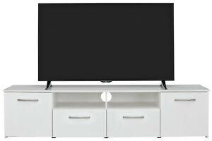 Habitat Hayward 2 Door TV Unit - White Gloss