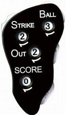 Mizuno Umpire Gear Indicator Counter Baseball Black 2ZA218