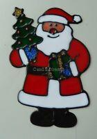Christmas Window Cling Sticker Decoration Snowman Santa Father Christmas 069353