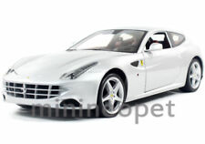 HOT WHEELS X5525 FERRARI FF V12 FOUR 4 SEATER 1/18 DIECAST SILVER