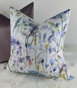 """18""""x18"""" Voyage Hinton Fabric Cushion Cover Country Home Meadow Flowers Timeless"""