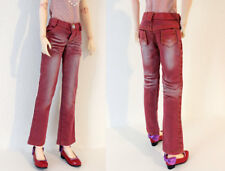 1/3 BJD 58-60cm SD13 girl doll clothes outfit red jeans dollfie luts elfdoll