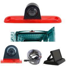 Komplettset Rückfahrkamera 4,3 Monitor für Ducato Boxer Jumper  3. Bremsleuchte
