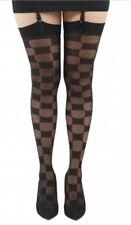 Gift Item Free P&P  Ladies  Pamela Mann Winners Checkerboard Patterned Stockings