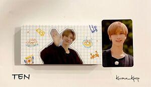 [TEN] WAYV - FLIP BOOK + 1P PHOTO CARD [WAYVISION] - kPOP SEALED NEW