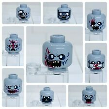 Lego Zombie Minifigure Head Monster Walking Dead Halloween Accessory