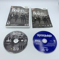 Rock Band Wii Game Lot - The Beatles And Rockband 1