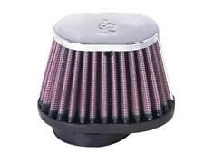 """RC-1820 K&N Universal Chrome Air Filter 2""""FLG, 4 X 3""""B, 3 X 2""""T, 2-3/4""""H (KN Uni"""