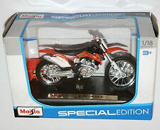 Maisto-ktm 450 sx-f-moto modèle échelle 1:18