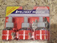Feliway Ceva Animal Health Multicat Feliway (3 X 30 Day Refills)