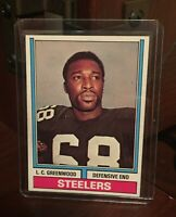 1974 Topps Football #496 L.C. Greenwood Pittsburgh Steelers