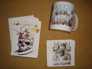 ZER.FLEISCH : Tasse + Stickerbombe (Black Tea Lemon)