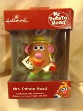 Hallmark Mrs. Potato Head Christmas Ornament New 2017