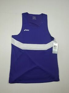 ASICS Women's Running Track and Field Singlet Tank Top Small Purple