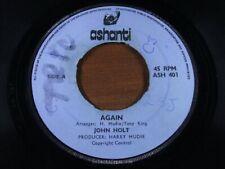 JOHN HOLT / MUDIE'S ALL STARS ~ Again ~ EX ~ 1972 UK ASHANTI ASH 401 ~ Reggae Lo