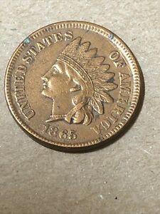 1865 Indian Cent High Grade