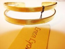 Msrp $30 gold colored Erica Lyons Cuff Bracelet