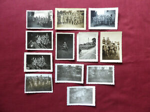 Soldaten 2. Weltkrieg - Konvolut 12 Fotos Soldatenfotos 2. WK