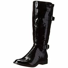LifeStride Women' $100 NWT ROCKIN Riding Boots Shoes 5.5 Medium (B,M) Black, NIB
