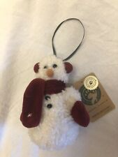 "Boyds Bears ""Bernice Blizzard"" #56193 - 3.5"" Snowman Ornament 1999"
