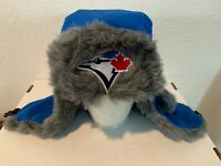 Toronto Blue Jays Fur Lined Winter Hat w/ Ear Flaps SGA 2014