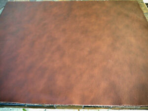 """Large Leather panels 5 pieces Top Quality Caramel 18"""" x 24"""""""