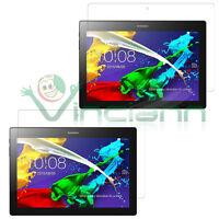 2X Pellicola display TRASPARENTE Lenovo Tab 2 A10-70 A10-30 protezione schermo