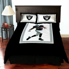 Nfl Comforter Set Oakland Raiders 3 Piece Set Bedding Sets Ultra Soft