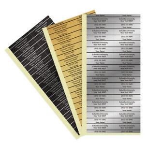 Golf Shaft Stick Labels Silver Gold iron Shaft Sticker 20pcs New Marking Label
