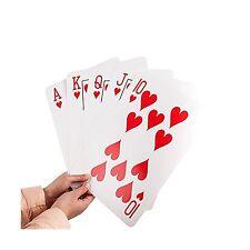 "Gameland Super Jumbo Playing Cards (Humongous 8-1/4"" x 11-3/4"" ... Free Shipping"