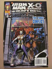 Iron Man X-O Manowar In Heavy Metal #1 Marvel Valiant 1996 - 9.4 Near Mint