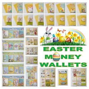 Easter Money Wallet Relation Card Gift Voucher for all the family Chick Rabbit